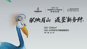 华陆国际中心 给眉山一个世界级高度